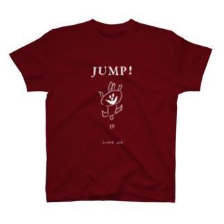 スーパーうさ JUMP! カラー T-shirts