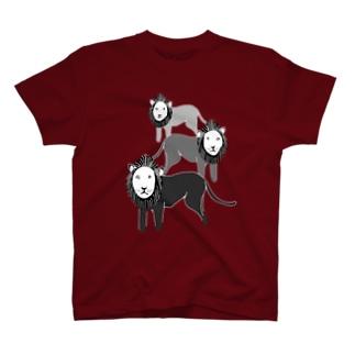 ライオン3 T-shirts