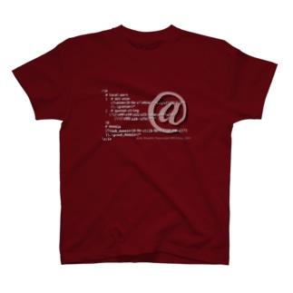 メールアドレス正規表現 1.0 T-shirts