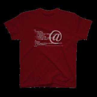 とみたまさひろのメールアドレス正規表現 1.0.1 T-shirts