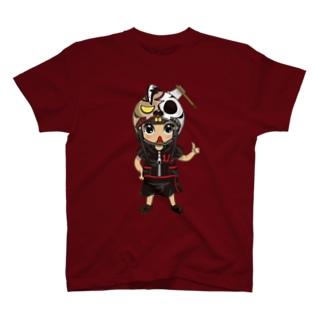 ちびキャラ/HORRORTYPE【一ノ瀬彩】 T-shirts