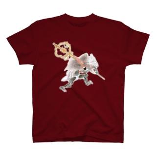 百鬼夜行絵巻 笙の付喪神【絵巻物・妖怪・かわいい】 T-shirts