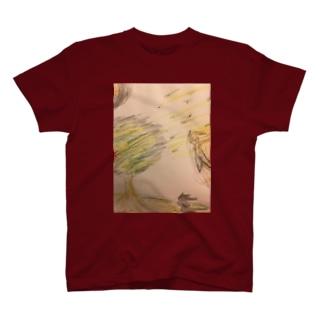 どこに向かう T-shirts