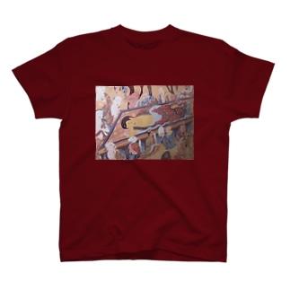 釈尊涅槃図グッズ T-shirts