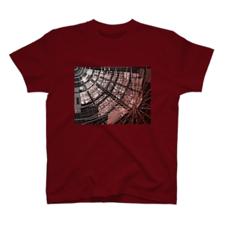 Cyber red hole T-shirts