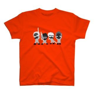 フォース3個分シルバー Tシャツ
