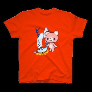 room6のとっとこダンジョンビターン!Tシャツ