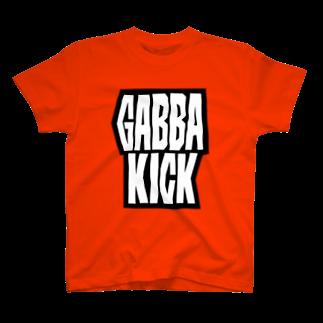 ガルスズリのGABBA KICKTシャツ
