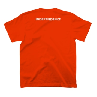 INDEPENDENCE(背面プリント) T-shirts