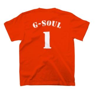 背番号Tシャツ(1) T-shirts