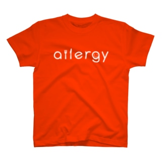 allergy グッズ T-shirts