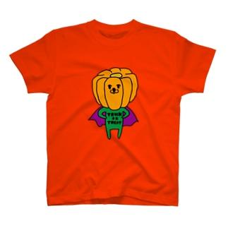 パンプキンマン T-shirts