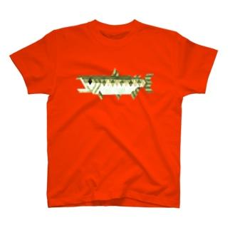 シャケシャツ(身) T-shirts