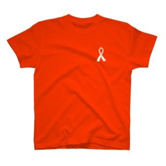 啓発リボン T-shirts