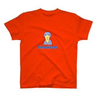 しらたま雑貨店のハシビロコウさん。正面顔 T-shirts