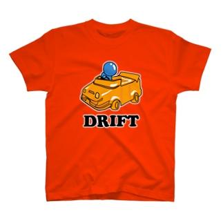 ドリフト 人生 Drift T-shirts