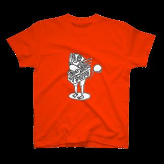 Exact Miscellaneousの蒲焼きboyロゴなし T-shirts