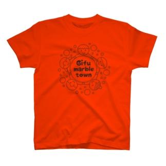 ぎふマーブルタウングッズ T-shirts