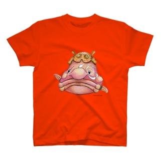 ニュウドウカジカ T-shirts