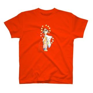 五花街の京舞妓 第一弾 T-shirts
