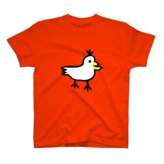 しゃくとりさん まんなかどーん T-shirts