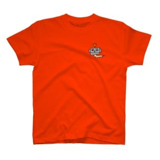 ロボいぬさん むね T-shirts