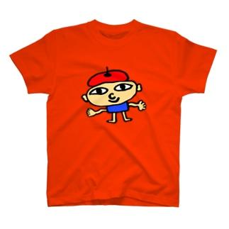 ベレー帽くん T-shirts