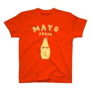 マヨネーズ大好き芸人専用デザイン「マヨラー」 T-shirts