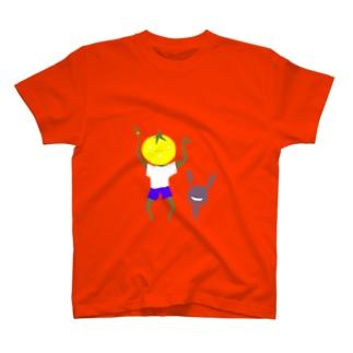 トマトとペットの日常 T-shirts