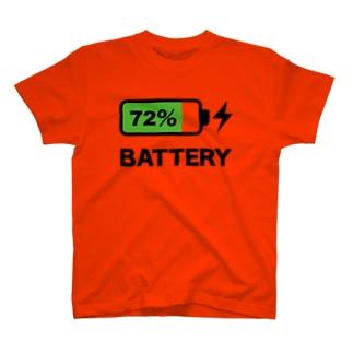 バッテリー T-shirts