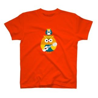 フクロウ T-shirts