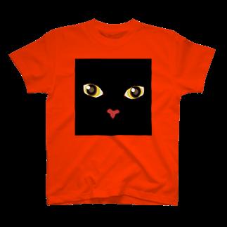 キャッツハンド:suzuriショップのくろくろ T-shirts