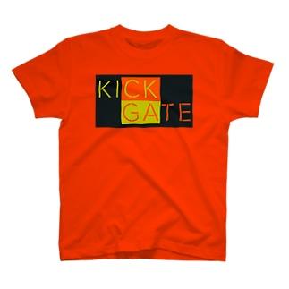 KICK GATE T-shirts
