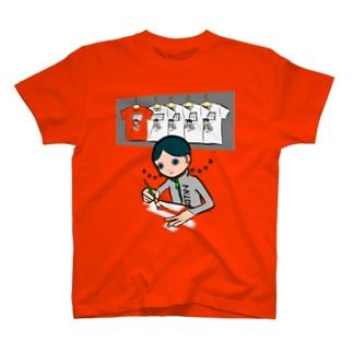 ぬりぬりぬりぬり T-shirts