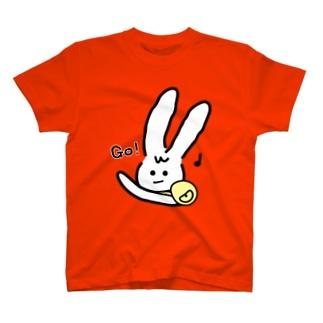 ほわウサとでかけよう♪♪♪ T-shirts