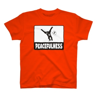 Marble-LabのPeacefulness T-shirts