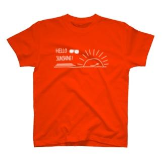 Hello sunshine T-シャツ T-shirts