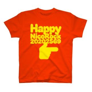 HappyNicoRock20202569righthand T-shirts