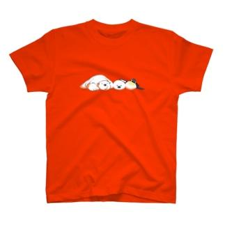 Tシャツ(お昼寝中) T-shirts