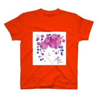 Pace イラスト背景白バージョン T-shirts