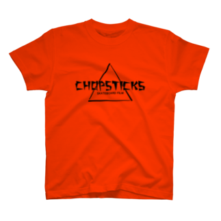 Filmer_Noonの「CHOPSTICKS」横長ロゴ T-shirts