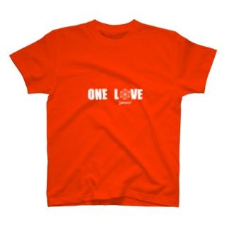 ONE LOVE logo T-shirts