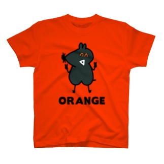 ね子とま太新シリーズ放送記念の(12) ORANGE T-shirts