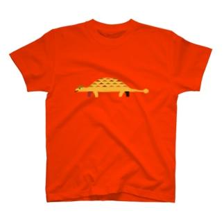 恐竜(アンキロサウルス) T-shirts