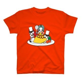 ソーメンズのオムライス姫 T-shirts