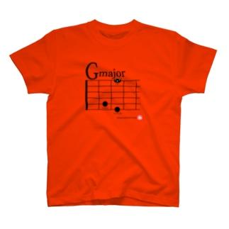 ギターコードシリーズG T-shirts