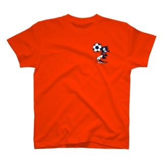 レフティーの猫Tシャツ T-shirts