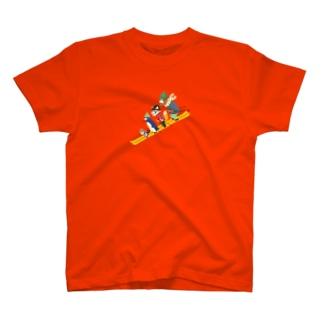 動物スキー T-shirts
