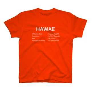 11_HAWAII_white T-shirts