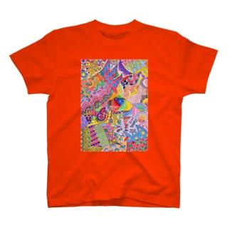 サイケデリック T-Shirt
